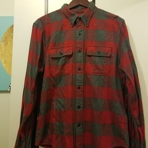 Mens Abercrombie & Fitch Flannel Woven Woven L